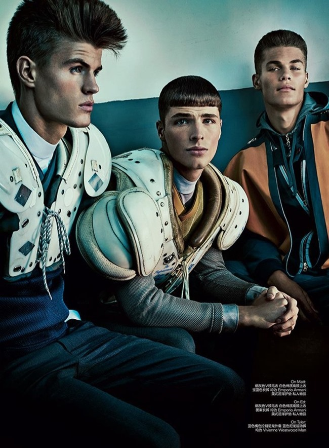 GQ STYLE ITALIA- Matt Trethe, Edward Wilding, Matt Woodhouse, Tyler Maher & Pietro Boselli in Dynamic by Thomas Cooksey. Fall 2013, www.imageamplified.com, Image Amplified (5)