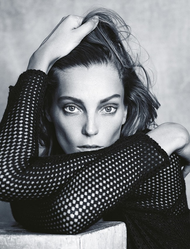 MADAME FIGARO FRANCE- Daria Werbowy in Beaute Magnetique by Nico. November 2013, www.imageamplified.com, Image Amplified (4)