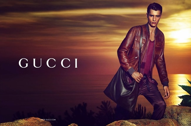 CAMPAIGN- Andreea Diaconu & Adrien Sahores for Gucci Resort 2014 by Mert & Marcus. www.imageamplified.com, Image Amplified (2)