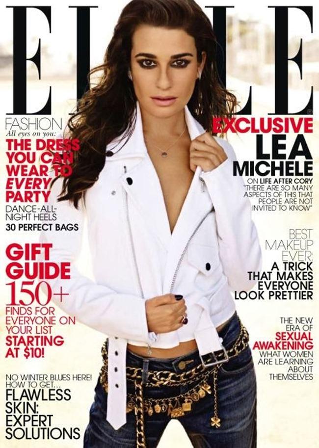 ELLE MAGAZINE- Lea Michele in Brave Heart by Carter Smith. Joe Zee, December 2013, www.imageamplified.com, Image Amplified (4)