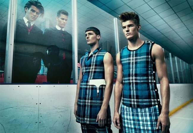 GQ STYLE ITALIA- Matt Trethe, Edward Wilding, Matt Woodhouse, Tyler Maher & Pietro Boselli in Dynamic by Thomas Cooksey. Fall 2013, www.imageamplified.com, Image Amplified (4)
