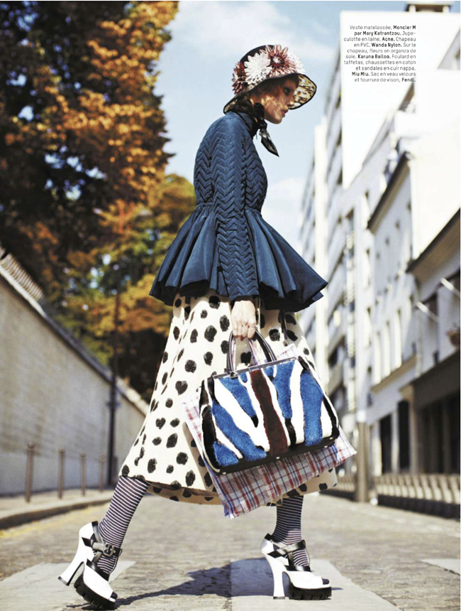 L'OFFICIEL PARIS- Ehren Dorsey in Bag Lady by Stian Foss. Anne-Sophie Thomas, November 2013, www.imageamplified.com, Image Amplified (4)
