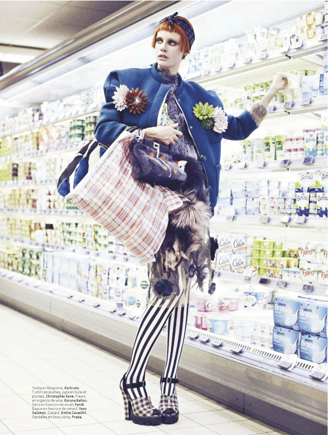 L'OFFICIEL PARIS- Ehren Dorsey in Bag Lady by Stian Foss. Anne-Sophie Thomas, November 2013, www.imageamplified.com, Image Amplified (11)