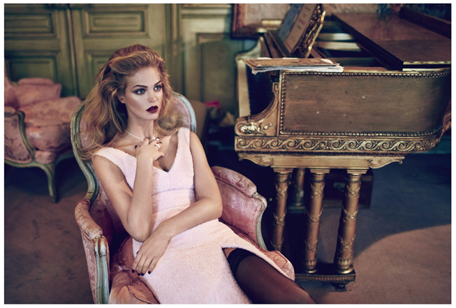 ELLE RUSSIA- Erin Heatherton by Koray Birand. Daria Anichkina, December 2013, www.imageamplified.com, Image Amplified