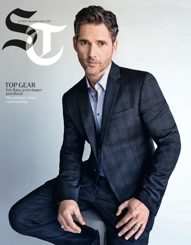 THE SUNDAY TELEGRAPH- Eric Bana by Lorenzo Agius. Fall 2013, www.imageamplified.com, Image Amplified