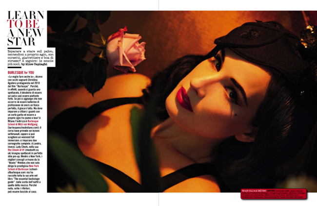 VOGUE ITALIA- Dita von Teese in The Queen of Burlesque by Greg Lotus. Laura Duncan, November 2013, www.imageamplified.com, Image Amplified (2)