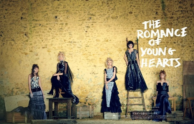 VOGUE JAPAN- The Romance of Young Hearts by Boo George. Havana Laffitte, December 2013, www.imageamplified.com, Image Amplified