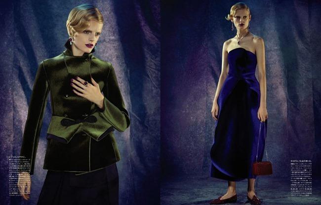 VOGUE JAPAN- Hanne Gaby Odiele in Glamour Reborn by Toby Knott. Sabino Pantone, December 2013, www.imageamplified.com, Image Amplified (1)