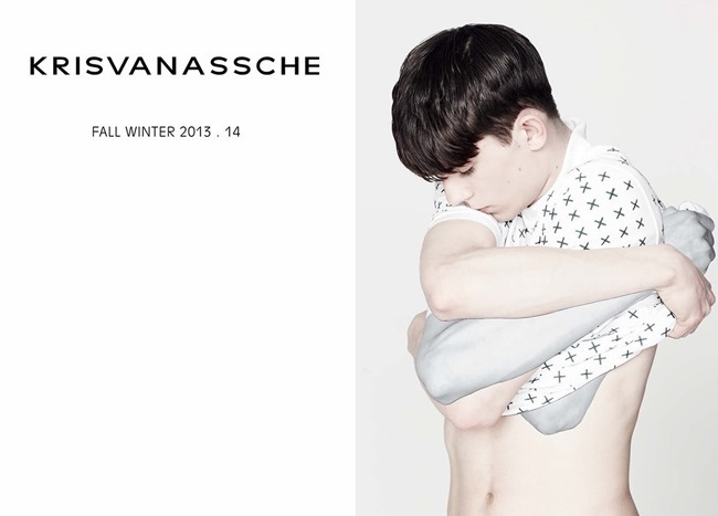 CAMPAIGN- Baptiste Faure for KrisVanAssche Fall 2013 by Bruno Staub. www.imageamplified.com, Image Amplified