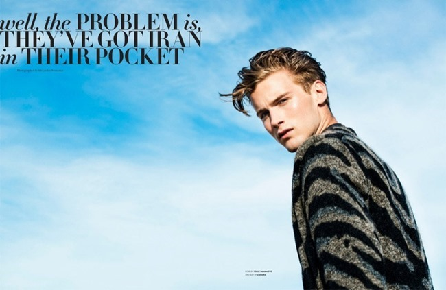 FLAUNT MAGAZINE- RJ King by Alexander Neumann. Christopher Campbell, Fall 2013, www.imageamplified.com, Image Amplified (1)