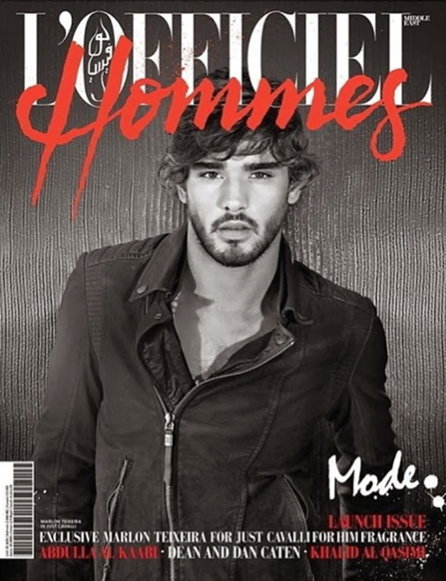 L'OFFICIEL HOMMES MIDDLE EAST- Marlon Texeira by Belinda Muller. Fall 2013, www.imageamplified.com, Image Amplified