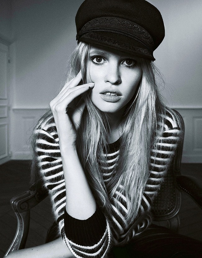 MADAME FIGARO FRANCE- Lara Stone by Nico Bustos. Cecile Martin, October 2013, www.imageamplified.com, Image Amplified (1)