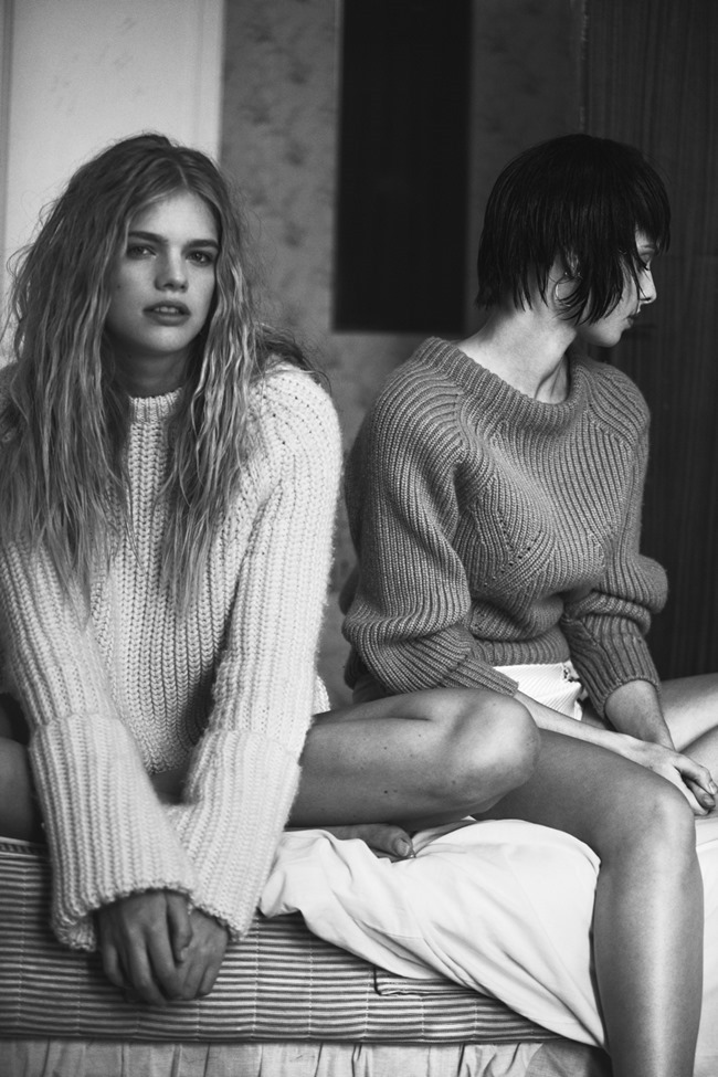 XOXO THE MAG- Valerie Van Der Graaf & Dioni Tabbers by Grant Thomas. Kieran Partise, Fall 2013, www.imageamplified.com, Image Amplified (3)