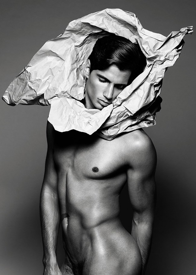 MASCULINE DOSAGE- Giuliano Meneghin in Paper Boy by Wong Sim. www.imageamplified.com, Image amplified