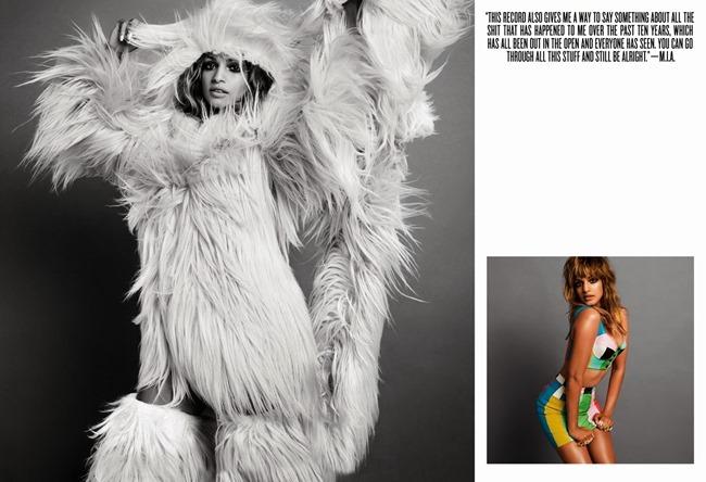 V MAGAZINE- M.I.A by INez & Vinoodh. Carlyne Cerf de Dudzeele, Fall 2013, www.imageamplified.com, Image Amplified (1)