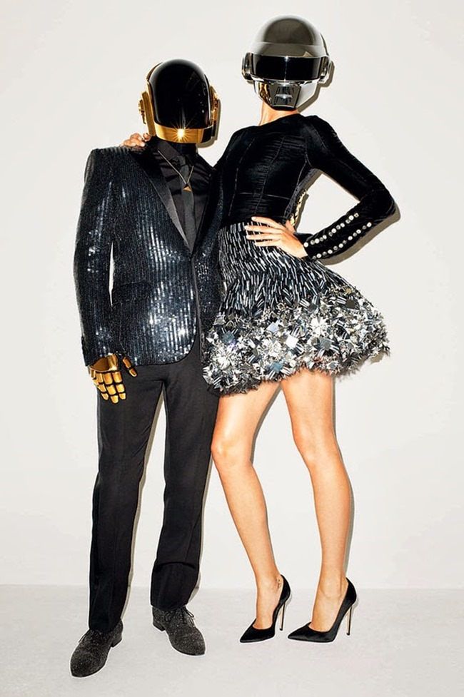 WSJ MAGAZINE- Gisele Bundchen & Daft Punk in Super Troopers by Terry Richardson. George Cortina, November 2013, www.imageamplified.com, Image Amplified