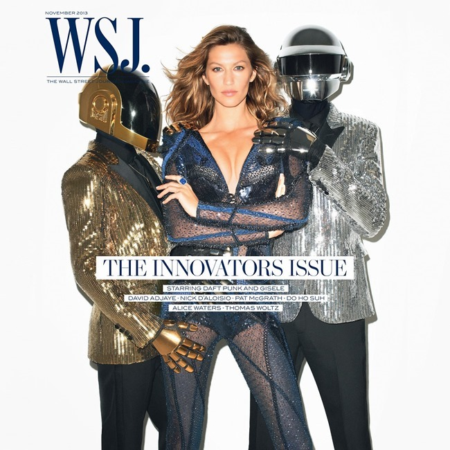 WSJ MAGAZINE- Gisele Bundchen & Daft Punk in Super Troopers by Terry Richardson. George Cortina, November 2013, www.imageamplified.com, Image Amplified (6)