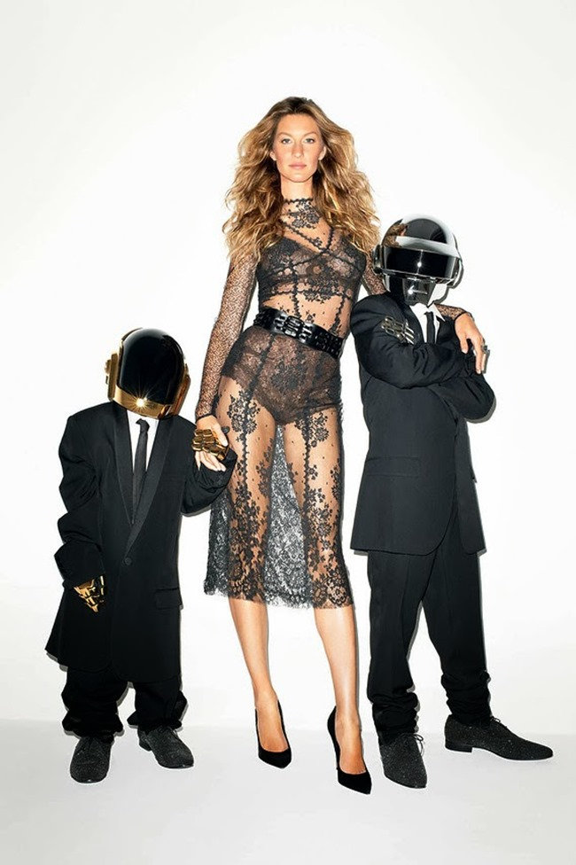 WSJ MAGAZINE- Gisele Bundchen & Daft Punk in Super Troopers by Terry Richardson. George Cortina, November 2013, www.imageamplified.com, Image Amplified (2)
