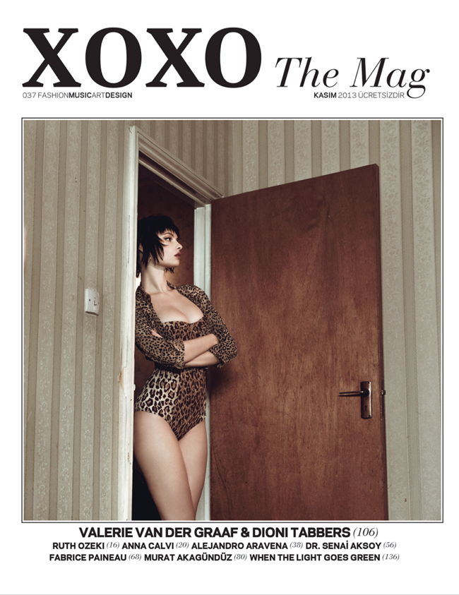 XOXO THE MAG- Valerie Van Der Graaf & Dioni Tabbers by Grant Thomas. Kieran Partise, Fall 2013, www.imageamplified.com, Image Amplified