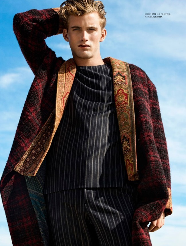 FLAUNT MAGAZINE- RJ King by Alexander Neumann. Christopher Campbell, Fall 2013, www.imageamplified.com, Image Amplified