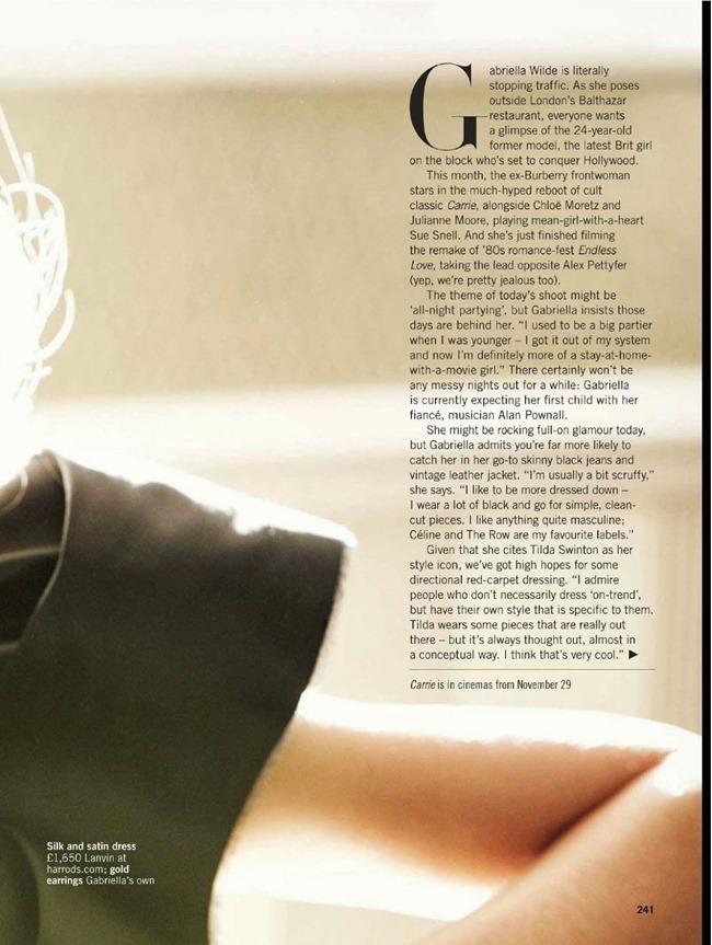 GLAMOUR UK- Gabriella Wilde in UP All Night by Walter Chin. Karen Preston, December 2013, www.imageamplified.com, Image Amplified (2)