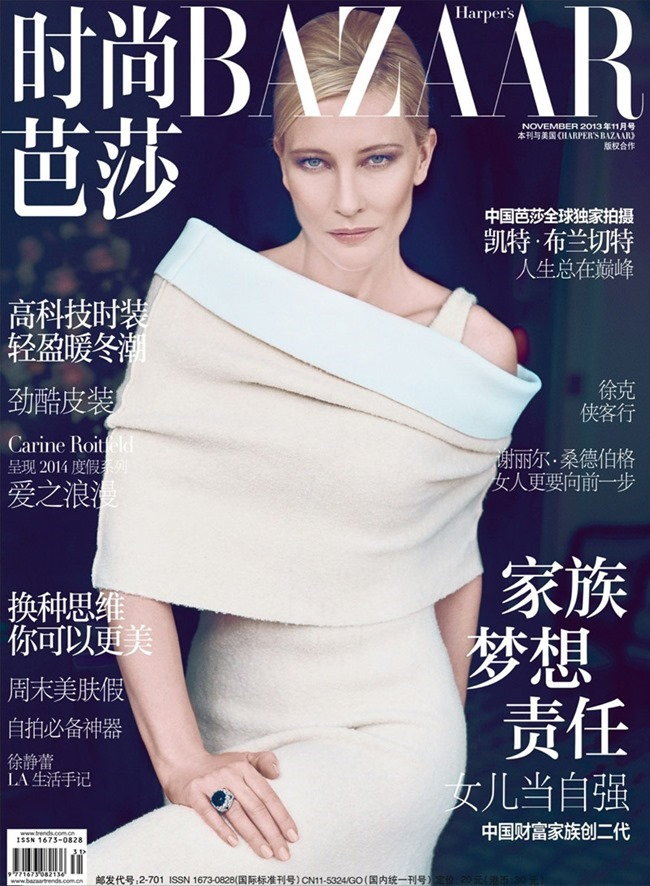 HARPER'S BAZAAR CHINA- Cate Blanchett in All about Cate by Koray Birand. Xiaomu Fan, November 2013, www.imageamplified.com, Image Amplified (5)