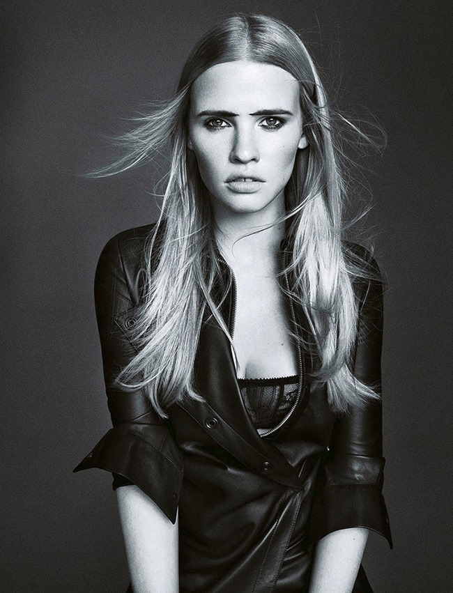 MADAME FIGARO FRANCE- Lara Stone by Nico Bustos. Cecile Martin, October 2013, www.imageamplified.com, Image Amplified (3)