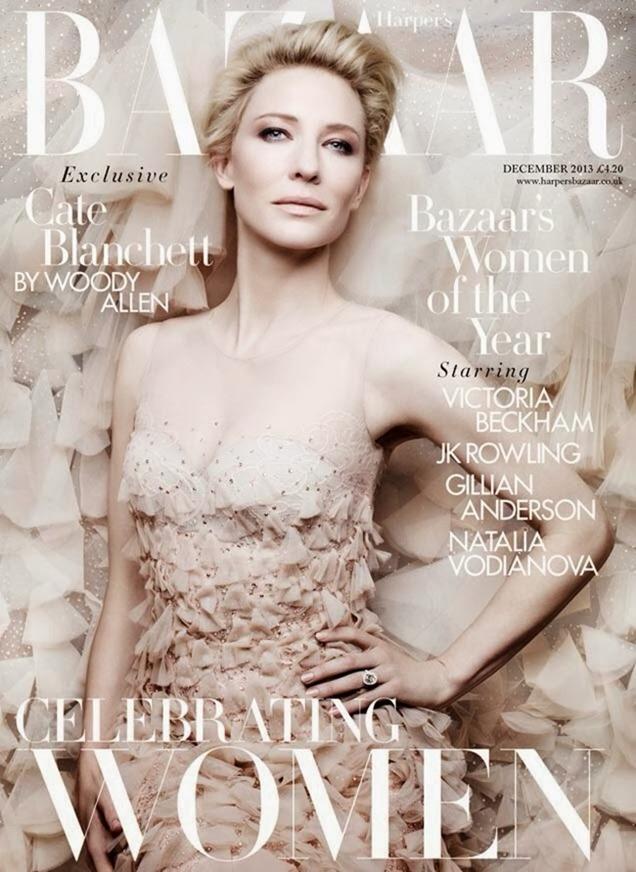 HARPER'S BAZAAR UK- Cate Blanchett by Ben Hassett. Miranda Almond, December 2013, www.imageamplified.com, Image Amplified