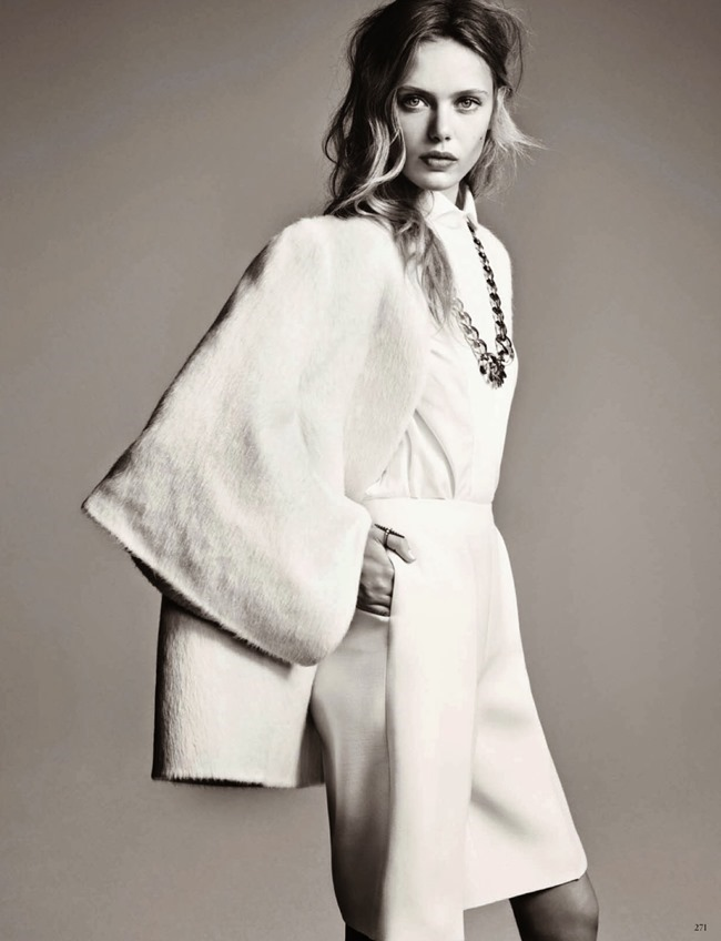 VOGUE GERMANY- Frida Gustavsson by Hasse Nielsen. Caludia Englmann, December 2013, www.imageamplified.com, Image Amplified (7)