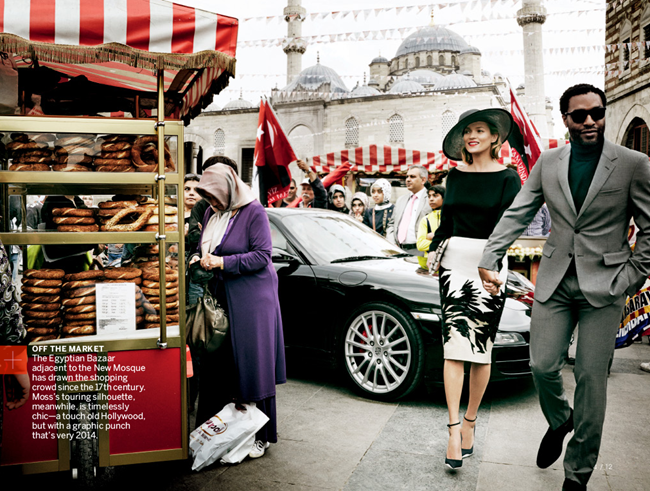 VOGUE MAGAZINE- Kate Moss & Chiwetel Ejiofor in The Silk Road by Mario Testino. Tonne Goodman, December 2013, www.imageamplified.com, Image Amplified (3)