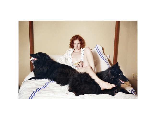 DOUBLE MAGAZINE- Karen Elson in At Ease by Theo Wenner. Karen Langley, Fall 2013, www.imageamplified.com, Image Amplified (5)