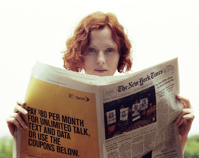 DOUBLE MAGAZINE- Karen Elson in At Ease by Theo Wenner. Karen Langley, Fall 2013, www.imageamplified.com, Image Amplified (1)