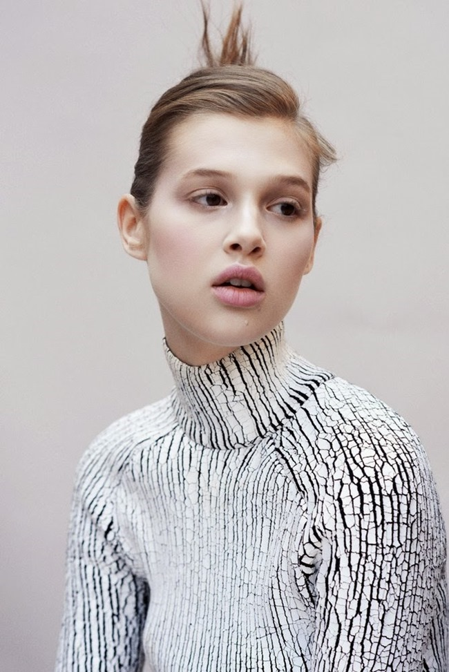 M LE MONDE- Anais Pouliot by Max Farago. November 2013, www.imageamplified.com, Image Amplified (2)