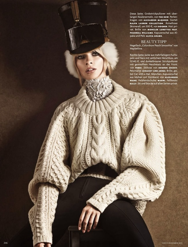 VOGUE GERMANY- Julia Stegner by Giampaolo Sgura. Christiane Arp, December 2013, www.imageamplified.com, Image Amplified (1)