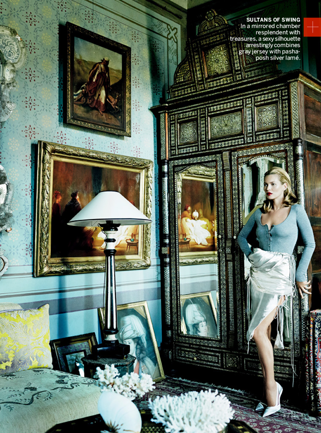 VOGUE MAGAZINE- Kate Moss & Chiwetel Ejiofor in The Silk Road by Mario Testino. Tonne Goodman, December 2013, www.imageamplified.com, Image Amplified (7)
