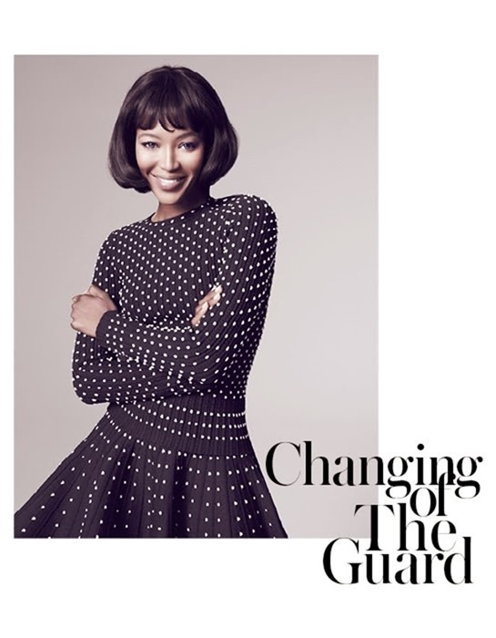 VOGUE THAILAND- Naomi Campbell in Changing of The Guard by Marcin Tyszka. November 2013, www.imageamplified.com, Image Amplified