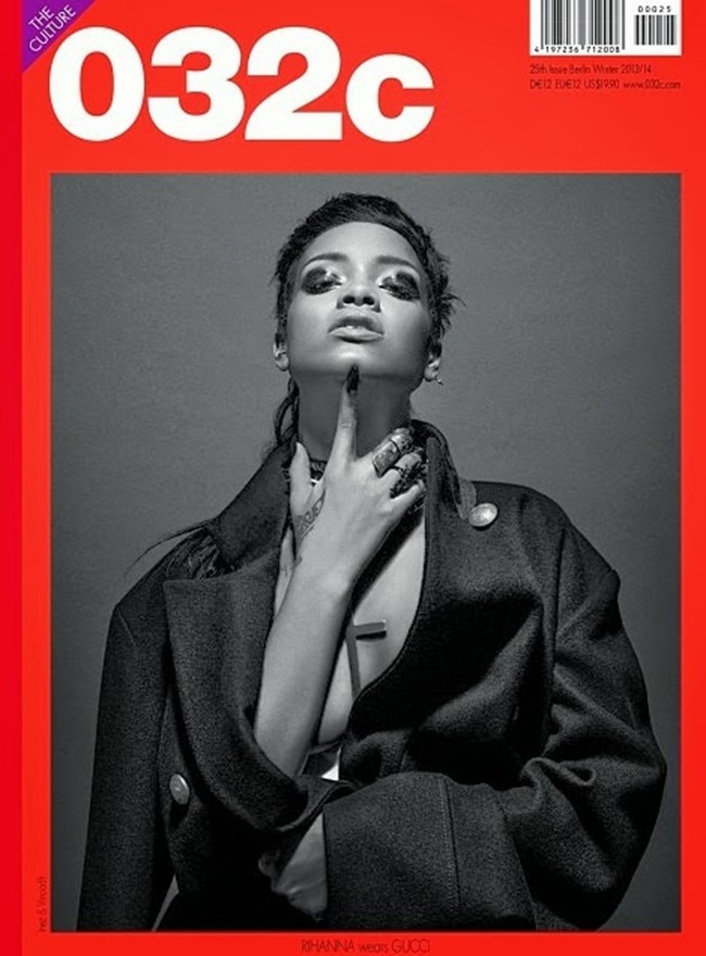 O32C MAGAZINE- Rihanna by Inez & Vinoodh. Fall 2013, www.imageamplified.com, Image Amplified