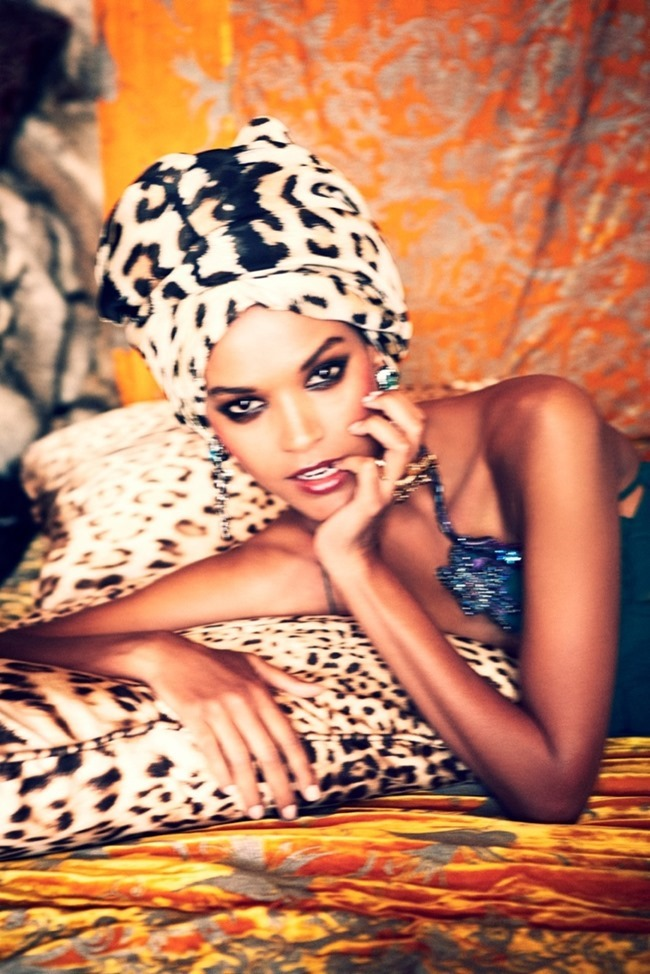 THE SUNDAY TIMES STYLE- Liya Kebede in Let There Be Luxe by Ellen von Unwerth. November 2013, www.imageamplified.com, Image Amplified (5)