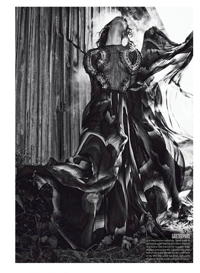 V MAGAZINE- Manon Leloup in The Nature of Couture by Kacper Kasprzyk. Tom Van Dorpe, Fall 2013, www.imageamplified.com, Image Amplified (7)