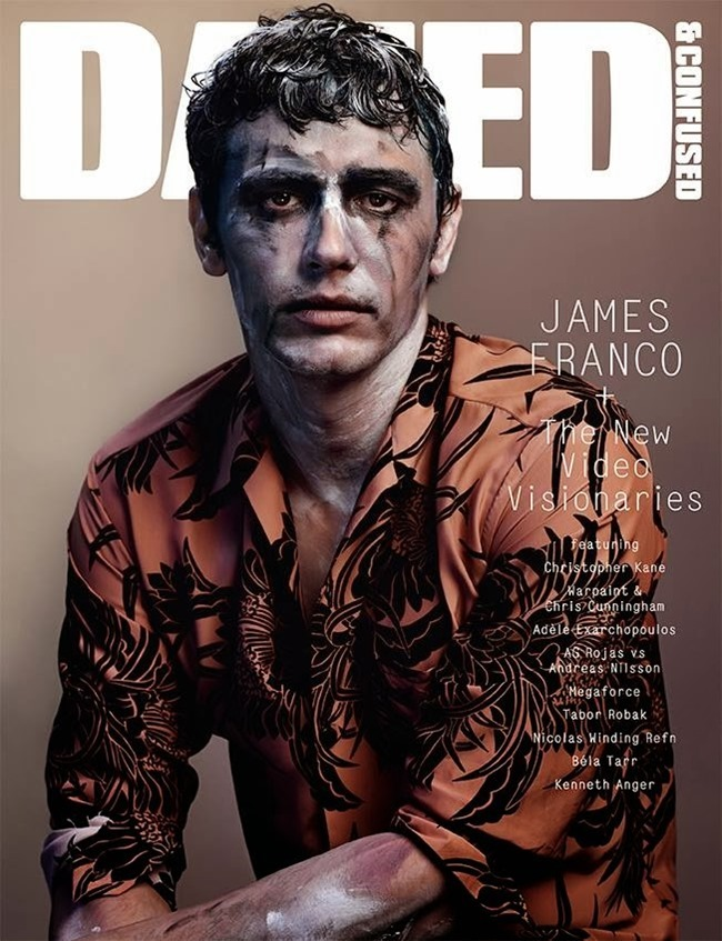 DAZED & CONFUSED MAGAZINE- James Franco in Use Your Illusions by Josh Olins. Robbie Spencer, December 2013, www.imageamplified.com, Image Amplified (3)