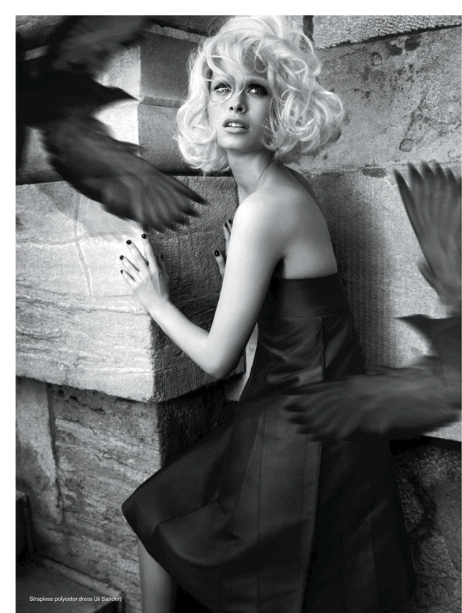 ELLE CANADA- Pamela Bernier in The Birds by Leda & St.Jacques. Cloe Legault, December 2013, www.imageamplified.com, Image Amplified (2)