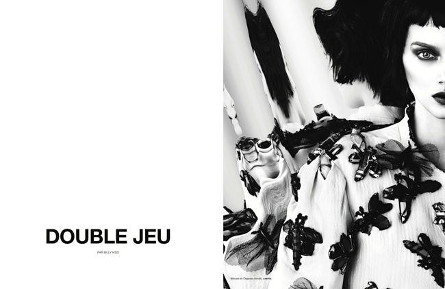 NUMERO MAGAZINE- Lily Donaldson in Double Jeu by Billy Kidd. Charles Varenne, Fall 2013, www.imageamplified.com, Image Amplified