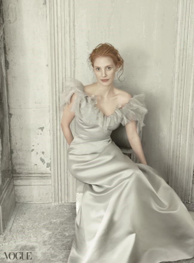 VOGUE MAGAZINE- Jessica Chastain by Annie Leibovitz. December 2013, www.imageamplified.com, Image Amplified (4)