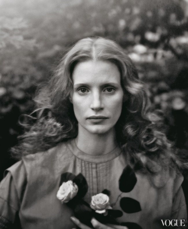 VOGUE MAGAZINE- Jessica Chastain by Annie Leibovitz. December 2013, www.imageamplified.com, Image Amplified (5)