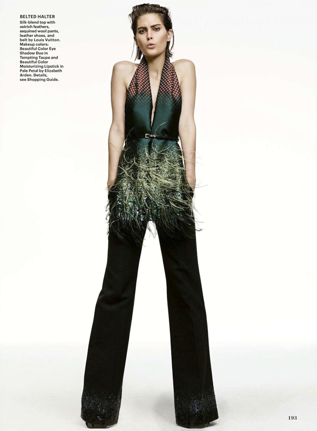 ALLURE MAGAZINE- Catherine McNeil in Feather Dusters by Terry Tsiolis. Paul Cavaco, December 2013, www.imageamplified.com, Image Amplified (5)
