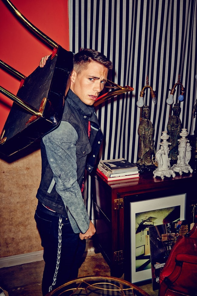 FLAUNT MAGAZINE- Colton Haynes by Eric Ray Davidson. Yohanna Logan, Fall 2013, www.imageamplified.com, Image Amplified (5)