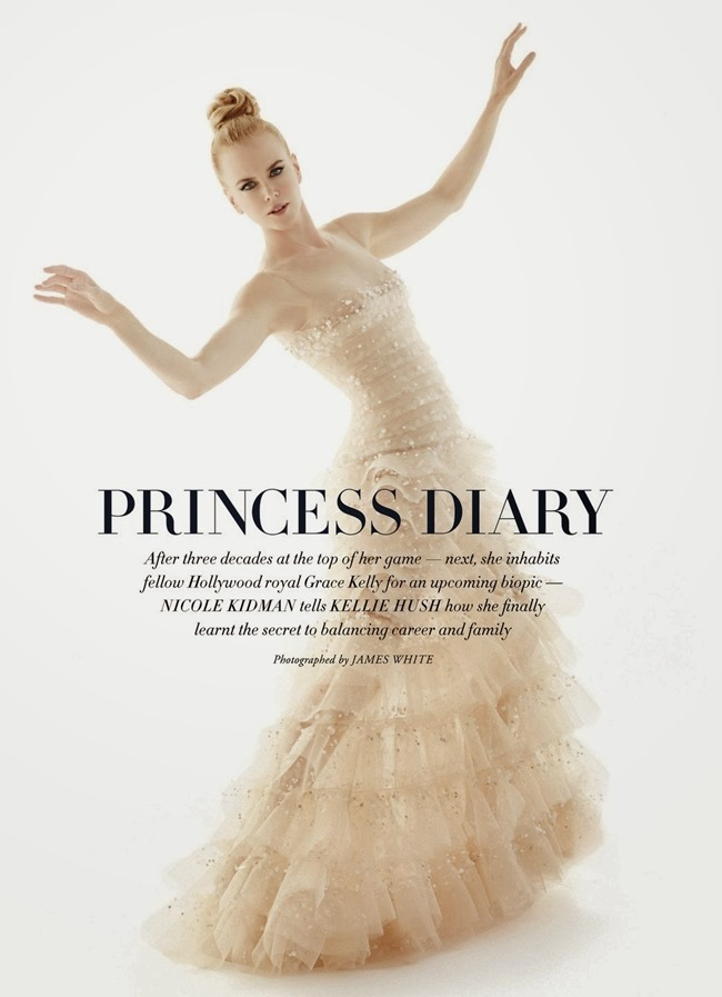 HARPER'S BAZAAR AUSTRALIA- Nicole Kidman in Princess Diary by James White. Thelma McQuillan, December 2013, www.imageamplified.com, Image Amplified