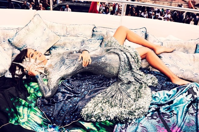 THE SUNDAY TIMES STYLE- Liya Kebede in Let There Be Luxe by Ellen von Unwerth. November 2013, www.imageamplified.com, Image Amplified