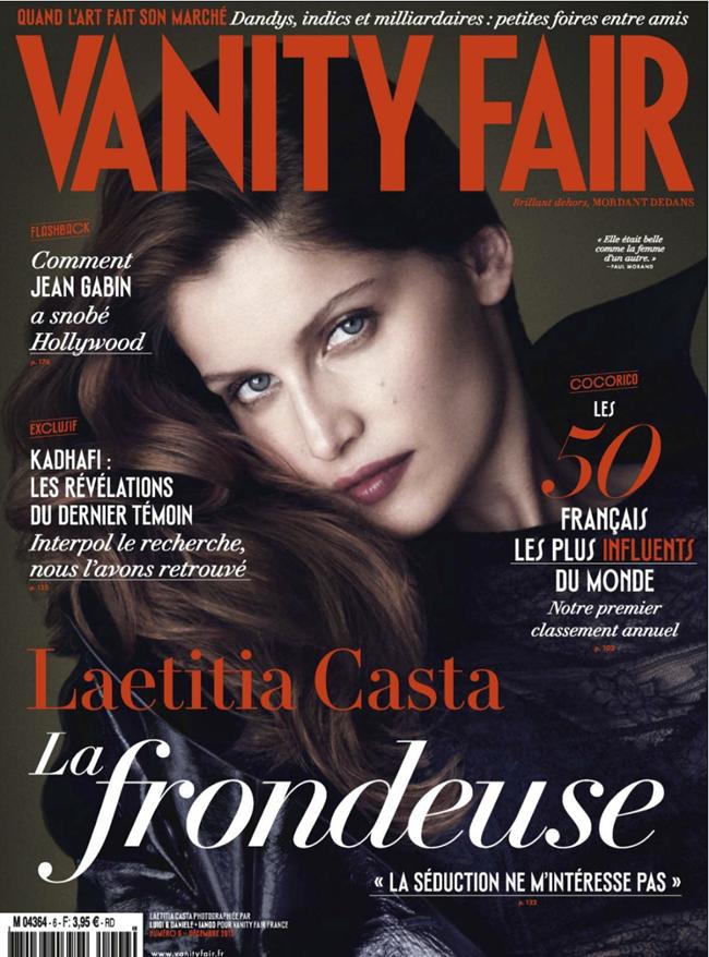 VANITY FAIR FRANCE- Laetitia Casta by Luigi & Daniele   Iango. Sabina Schreder, December 2013, www.imageamplified.com, Image Amplified