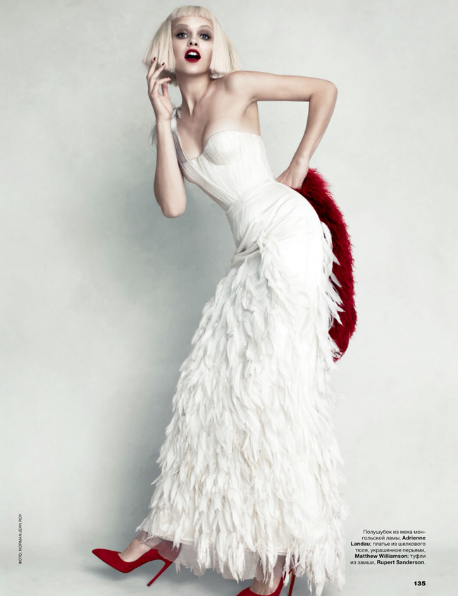 ALLURE RUSSIA- Ginta Lapina by Norman Jean Roy. Anya Ziourova, December 2013, www.imageamplified.com, Image Amplified (4)